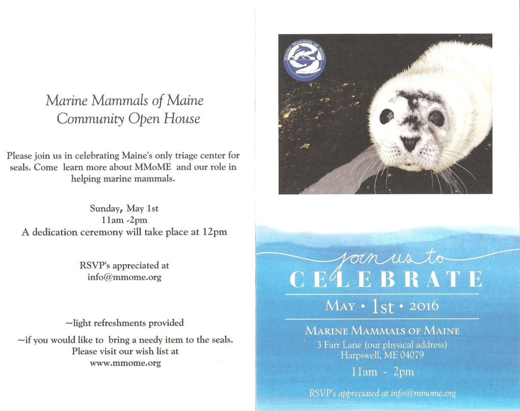 Community Open House May 1st 2016